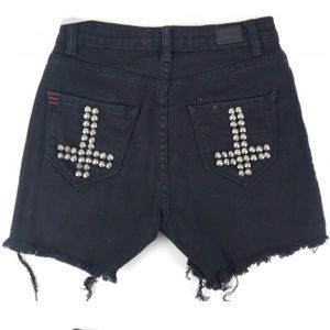 Urban Outfitters BDG Studded Shorts
